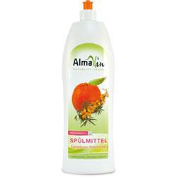 AlmaWin Organic Washing up Liquid (Scent Sallowthorn Mandarin) 1L
