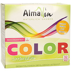 AlmaWin Organic Washing Powder Lime Blossom (Color) 1Kg
