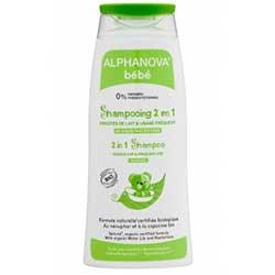 Alphanova Organic 2in1 Baby Shampoo (Sık Kullanım & Konak Problemi) 200ml