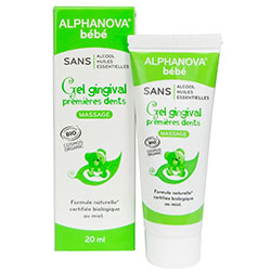 Alphanova Organic Gingival Gel For Baby Teeth 20ml