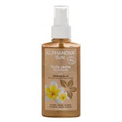 Alphanova Organic Sun Glittering Dry Oil 125ml