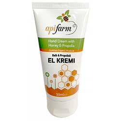 Apifarm Organic Hand Cream With Honey & Propolis 50ml