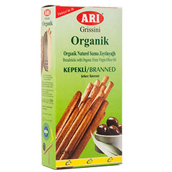 ARI Organic Breadstick with Extra Virgin Olive Oil (Branned) 125g