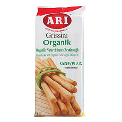 ARI Organic Breadstick with Extra Virgin Olive Oil 125g
