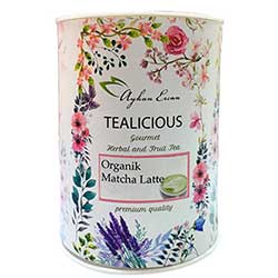 Ayhan Ercan Tealicious Organic Matcha Latte 60g