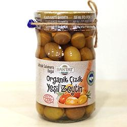 BAKTAT Organic Green Olive (Score) 630g