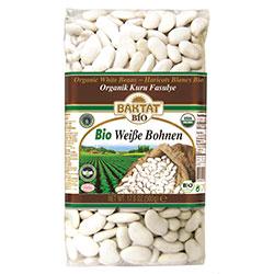 BAKTAT Organic White Beans 500g
