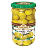 BAKTAT Organic Cracked Green Olives 630g