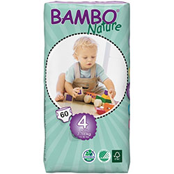 Bambo Nature Baby Diapers Maxi 4 (7-18 kg) 60 Pcs