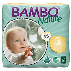 Bambo Nature Baby Diapers Midi 3 (5-9 kg) 33 Pcs