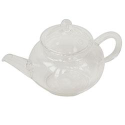 Taşev Glass Pot (Tulipa) (With Strainer) 220 ml