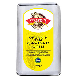 Bemtat Organic Whole Rye Flour 1 Kg