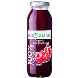 BenOrganic Organic Pomegranate Juice 250ml
