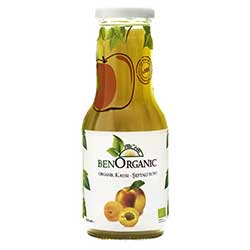 BenOrganic Organic Apricot & Peach & Apple Juice 250ml