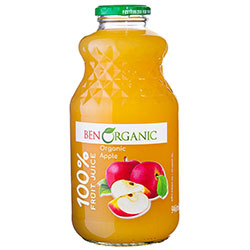 BenOrganic Organic Apple Juice 1L