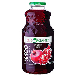 BenOrganic Organic Pomegranate Juice 946ml