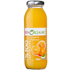 BenOrganic Organic Orange Juice 250ml