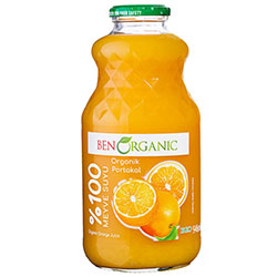 BenOrganic Organic Orange Juice 946