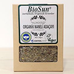 Biosun Organic Sage Tea With Mint 50g