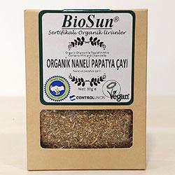 Biosun Organic Camomile Tea With Mint 30g