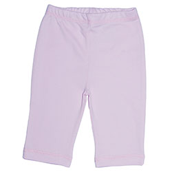 Canboli Organic Baby Pants (Pink, 6-12 Month)