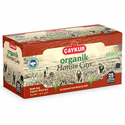 Çaykur Organic Hemşin Black Tea 25 Tea Bag