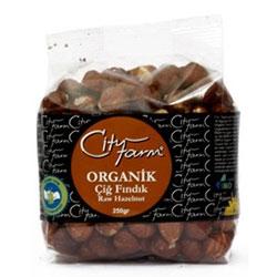 Cityfarm Organic Hazelnuts Raw 250g