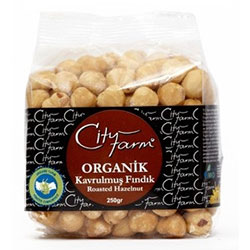 Cityfarm Organic Roasted Hazelnuts 250g