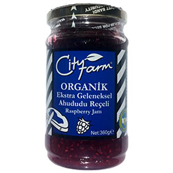 Cityfarm Organic Raspberry Jam 360g