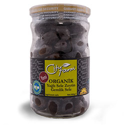 Cityfarm Organic Black Olive 390g