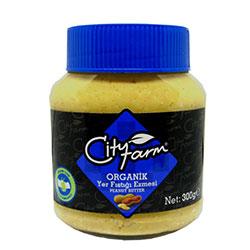 Cityfarm Organic Peanut Butter 300g