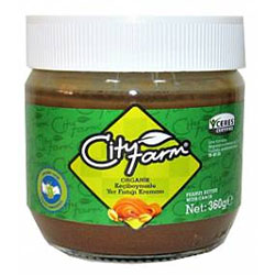 Cityfarm Organic Peanut Butter With Carob 360g