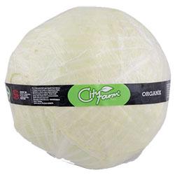 Cityfarm Organic White Cabbage (KG)