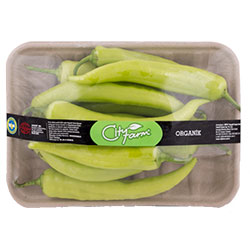 Cityfarm Organic Banana Pepper (KG)