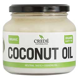 Crede Organic Neutral Taste Coconut Oil 500ml