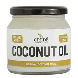 Crede Organic Virgin Coconut Oil 250ml