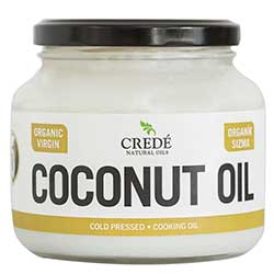 Crede Organic Virgin Coconut Oil 500ml