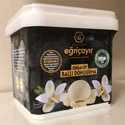 Eğriçayır Organic Honey Icecream (Vanillia) 180ml