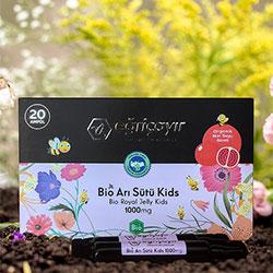 Eğriçayır Organic Bio Royal Jelly 20 Pcs 1000mg