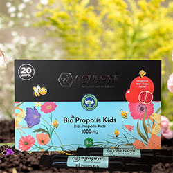 Eğriçayır Organic Bio Propolis Kids 20 Pcs 1000mg