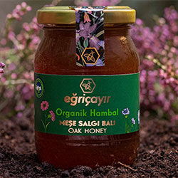 Eğriçayır Organic Oak Honey 225g