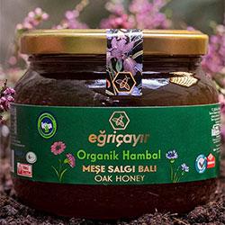 Eğriçayır Organic Oak Honey 450g