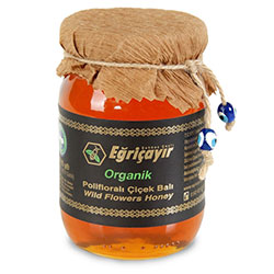 Eğriçayır Organic Wild Flowers Honey 225g