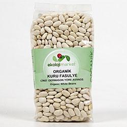 Ekoloji Market Organic White Beans (Dermason) 500g