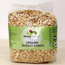 Ekoloji Market Organic Wheat Flakes 500g