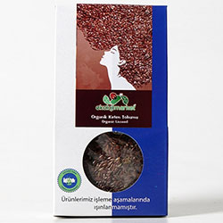 Ekoloji Market Organic Linseed 50g