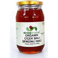 Ekoloji Market Organic Şemdinli Wild Flower Honey 450g