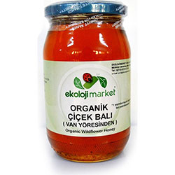 Ekoloji Market Organic Van Flower Honey 450g