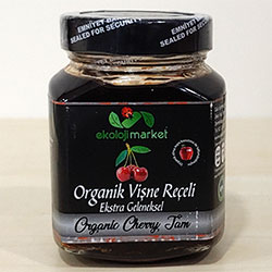 Ekoloji Market Organic Sour Cherry Jam 375g