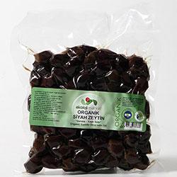 Ekoloji Market Organic Black Olive 300g